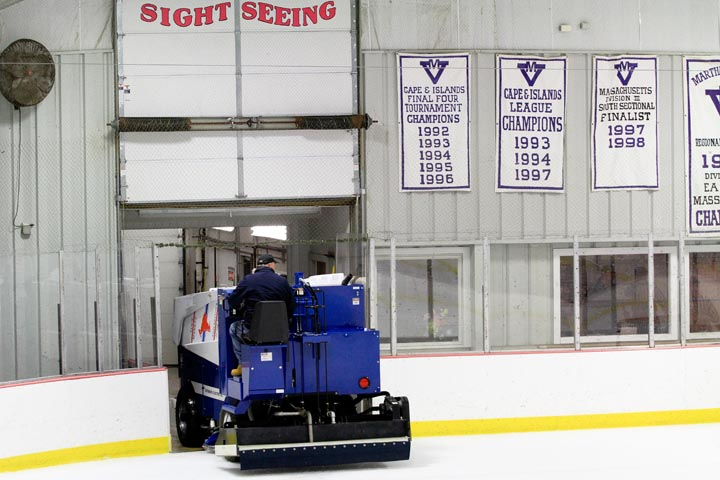 The Zamboni makes the rounds
